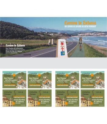 Sello de España 5397/8 Carnet Caminos de Santiago. Liébana  - 1