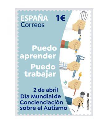 Sello de España 5399 Día Mundial de concienciación sobre el Autismo.  - 1