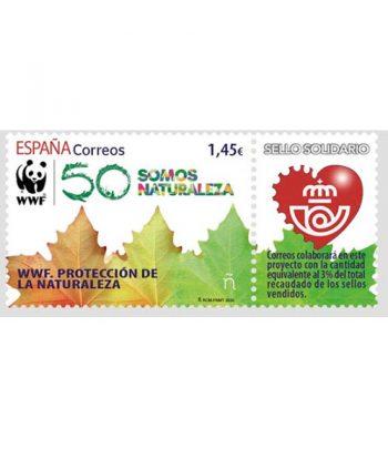Sello de España 5401 WWF. Protección de la naturaleza  - 2