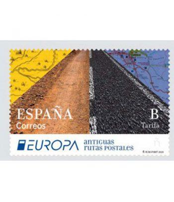 Sello de España 5402 Europa Antiguas Rutas Postales.  - 1