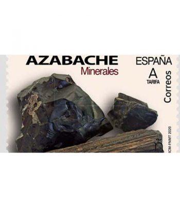 Sello de España 5404 Minerales. Azabache  - 1