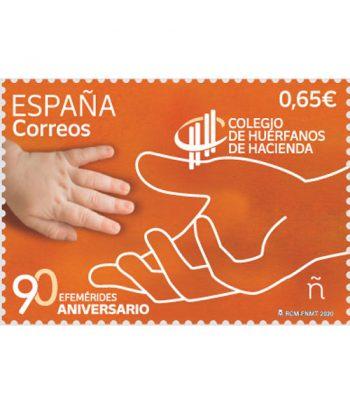 Sello de España 5405 90 Aniversario Colegio de Huérfanos de Hacienda  - 1