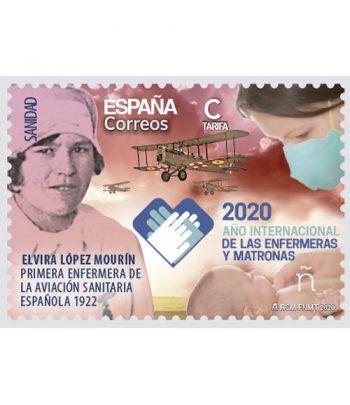 Sello de España 5406 Año internacional de enfermeras y matronas  - 1
