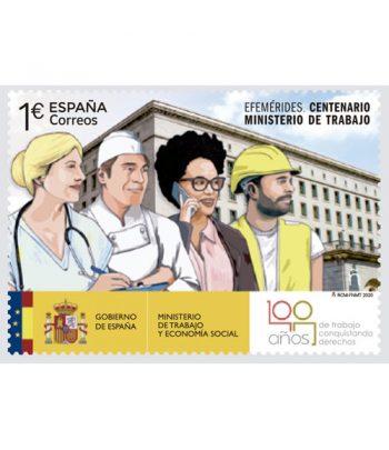 Sello de España 5407 Centenario Ministerio de Trabajo  - 1