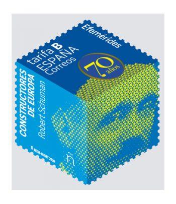 Sello de España 5408 Constructores de Europa. Robert Schuman  - 1