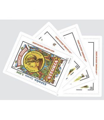 Sello de España 5409 Ocio y aficiones. Juego de cartas  - 2