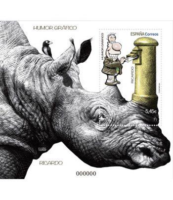 Sello de España 5410 HB Humor gráfico RICARDO  - 2