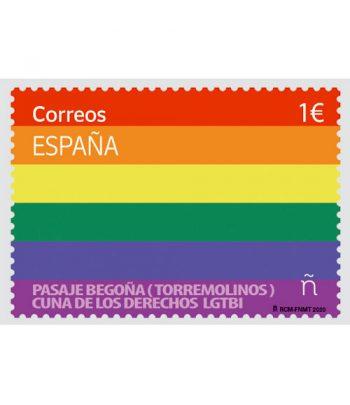 Sello de España 5412 Día internacional del Orgullo LGTBI.  - 2