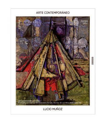Sello de España 5414 HB Arte contemporáneo. Lucio Muñoz  - 2