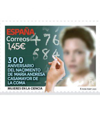 Sello de España 5416 Mujeres y Ciencia. María Andresa Casamayor de la Coma  - 2