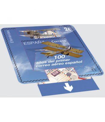 Sello de España 5418 100 años del primer correo aéreo español  - 1