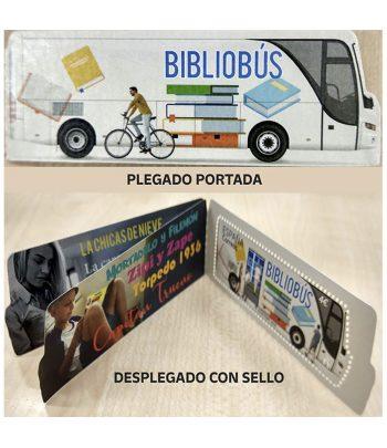 Sello de España 5419 Literatura. Bibliobús  - 1