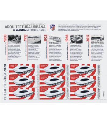 Pliego Premium año 2020 nº 96 Estadio Wanda Metropolitano  - 1