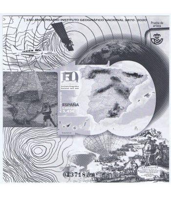 Prueba Lujo 148 Instituto Geográfico Nacional 150 años  - 1