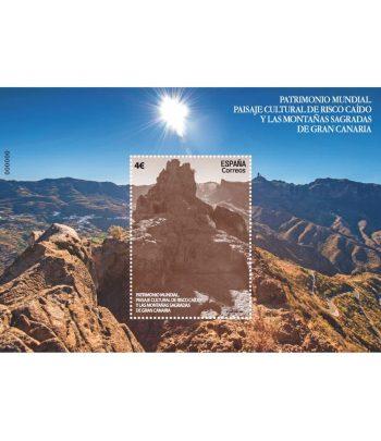 Sello de España 5438 Patrimonio mundial. Risco Caído y Montañas Sagradas  - 1