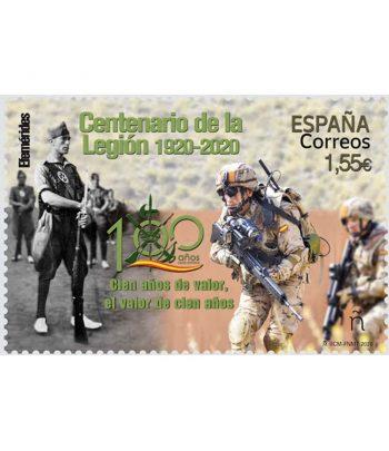 Sello de España 5440 Efemérides. Centenario de la Legión 1920-2020  - 2