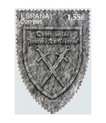 Sello de España 5442 Orden de los Fratres de Cáceres 1169-2019  - 1