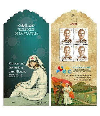 5443CP Carné Promoción de la Filatelia 2020.  - 7