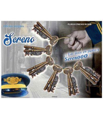 Pliego Premium año 2020 nº 99 El Sereno. Oficios antiguos  - 1