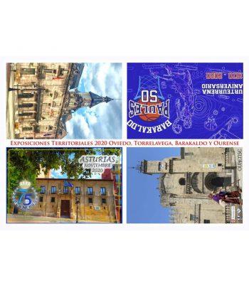 Entero Postal Año 2020 FESOFI Exposiciones Territoriales.  - 5