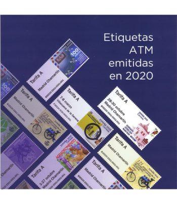 Etiquetas ATM emitidas el Año 2020 completo.  - 21