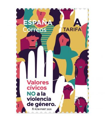 Sello de España 5443 No a la Violencia de Género  - 1
