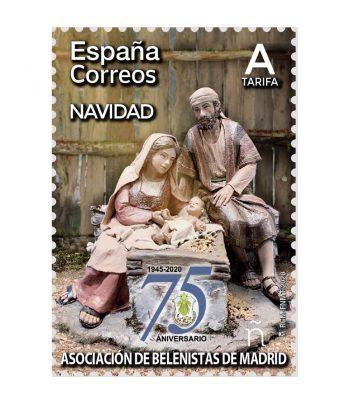 Sello de España 5444/5 Navidad 2020.  - 1
