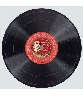 Sello de España 5446 HB Música Clásica. Ludwig van Beethoven.  - 1