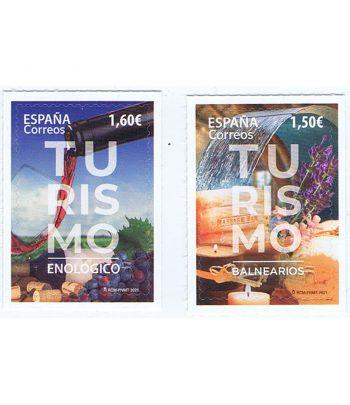 Sello de España 5449/50 Turismo Balnearios y Turismo Enológico  - 1