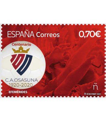Sello de España 5452 Centenario Club Atlético Osasuna  - 1