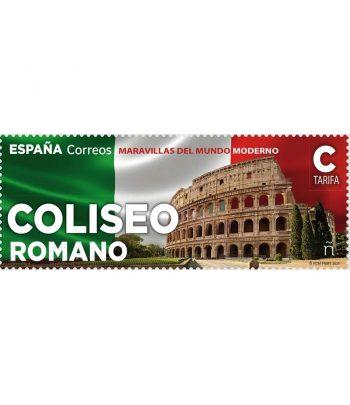 Sello de España 5453 Maravillas del Mundo Moderno. Coliseo Romano»  - 2