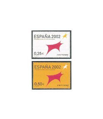 3865/66 España 2002. Presidencia de la Unión Europea  - 2