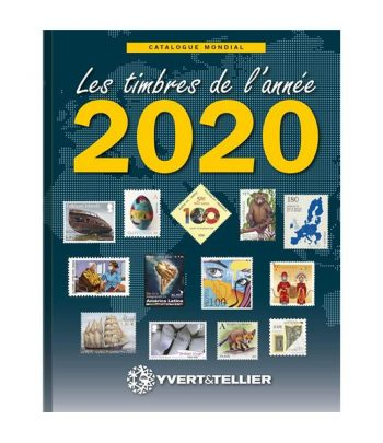 Catálogo de sellos YVERT ET TELLIER Novedades mundiales 2020.  - 2