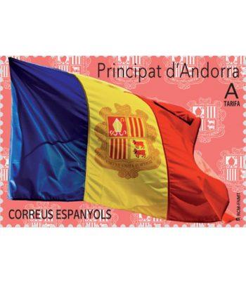 Andorra Española 492 Serie básica 2020. Bandera  - 1