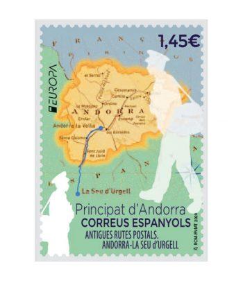 Andorra Española 496 Europa. Antigues Rutes Postals  - 1