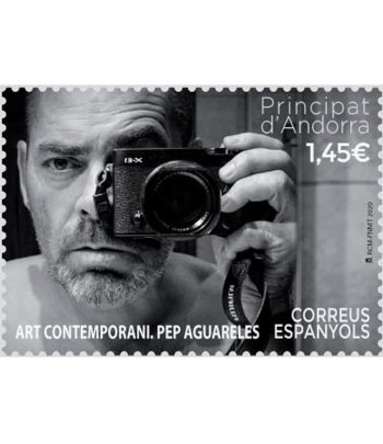Andorra Española 503 Art Contemporani. Pep Aguareles  - 1