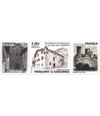Andorra Española 506 Candidatura patrimoni mundial de la UNESCO.  - 1