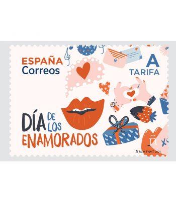 Sello de España 5456 Día de los enamorados  - 1