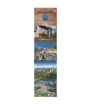 Sello de España 5459/62 Pueblos con encanto 2021  - 1