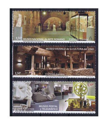 Sello de España 5466/8 Museos 2021  - 1