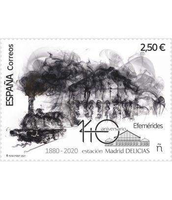 Sello de España 5470 140 aniversario estación Madrid Delicias.  - 1