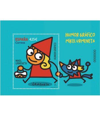 Sello de España 5471 HB Mikel Urmeneta  - 1