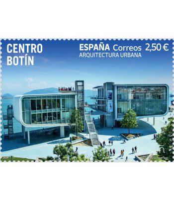 Sello de España 5472 Arquitectura urbana. Centro Botín  - 1