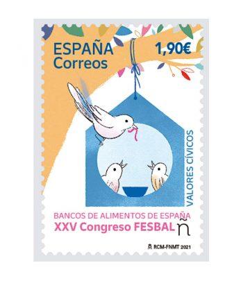 Sello de España 5475 Bancos de Alimentos de España  - 1