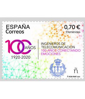 5477 100 años Ingenieros de Telecomunicación 1920-2020  - 1
