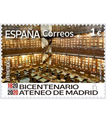 Sello de España 5478 Ateneo de Madrid  - 1