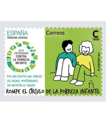 Sello de España 5482 Contra la pobreza infantil  - 1