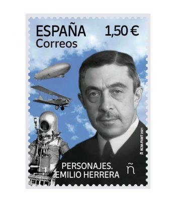 Sello de España 5484 Emilio Herrera  - 1