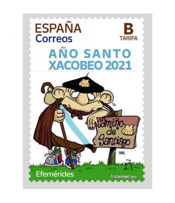 Sello de España 5485 Año Santo Xacobeo 2021  - 1