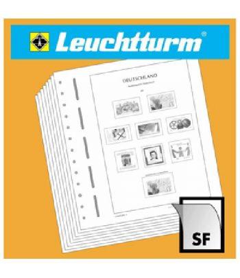 Suplemento LEUCHTTURM para sellos Tema Europa 2020 con protectores  - 1
